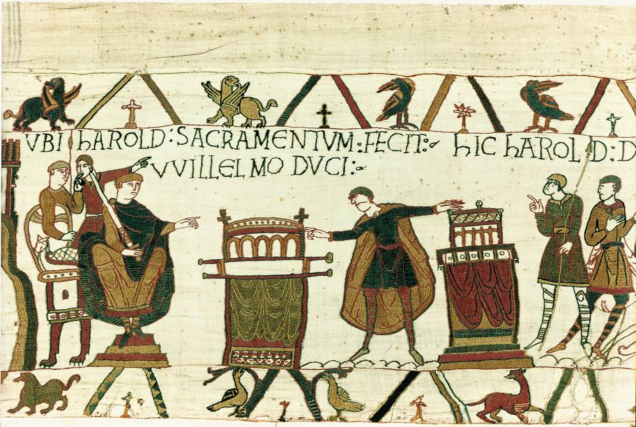 Image result for images bayeux tapestry text