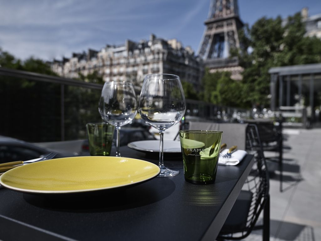 Frame Brasserie near the Eiffel Tower
