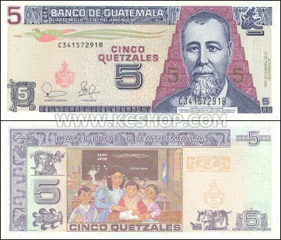 Guatemala Money