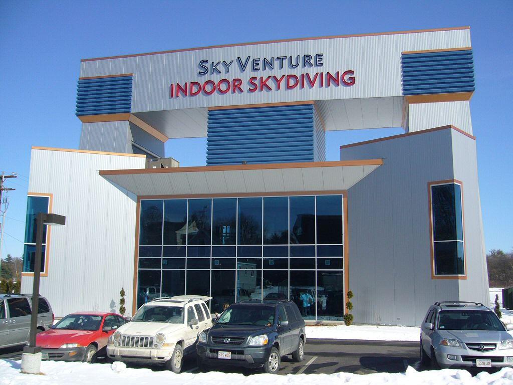Skyventure Indoor Skydiving in Nashua, New Hampshire