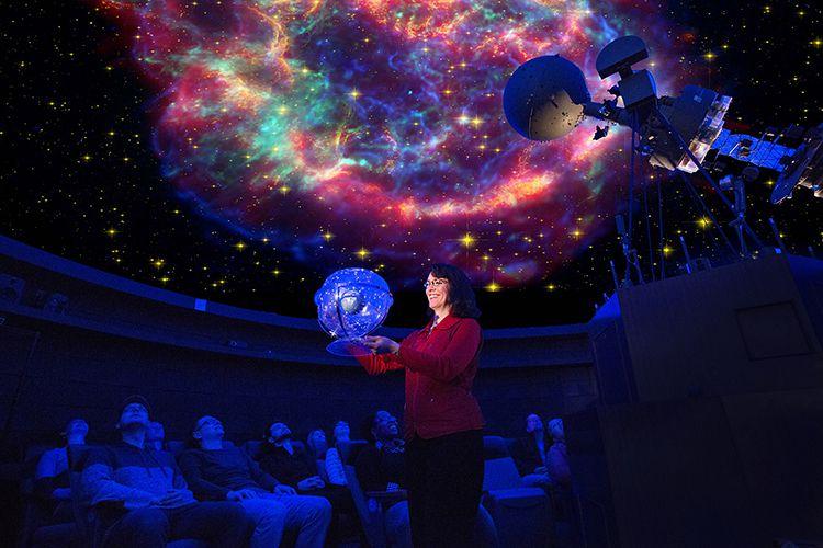 UW-Milwaukee's Manfred Olson Planetarium