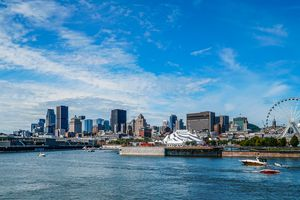 The Montreal waterfront