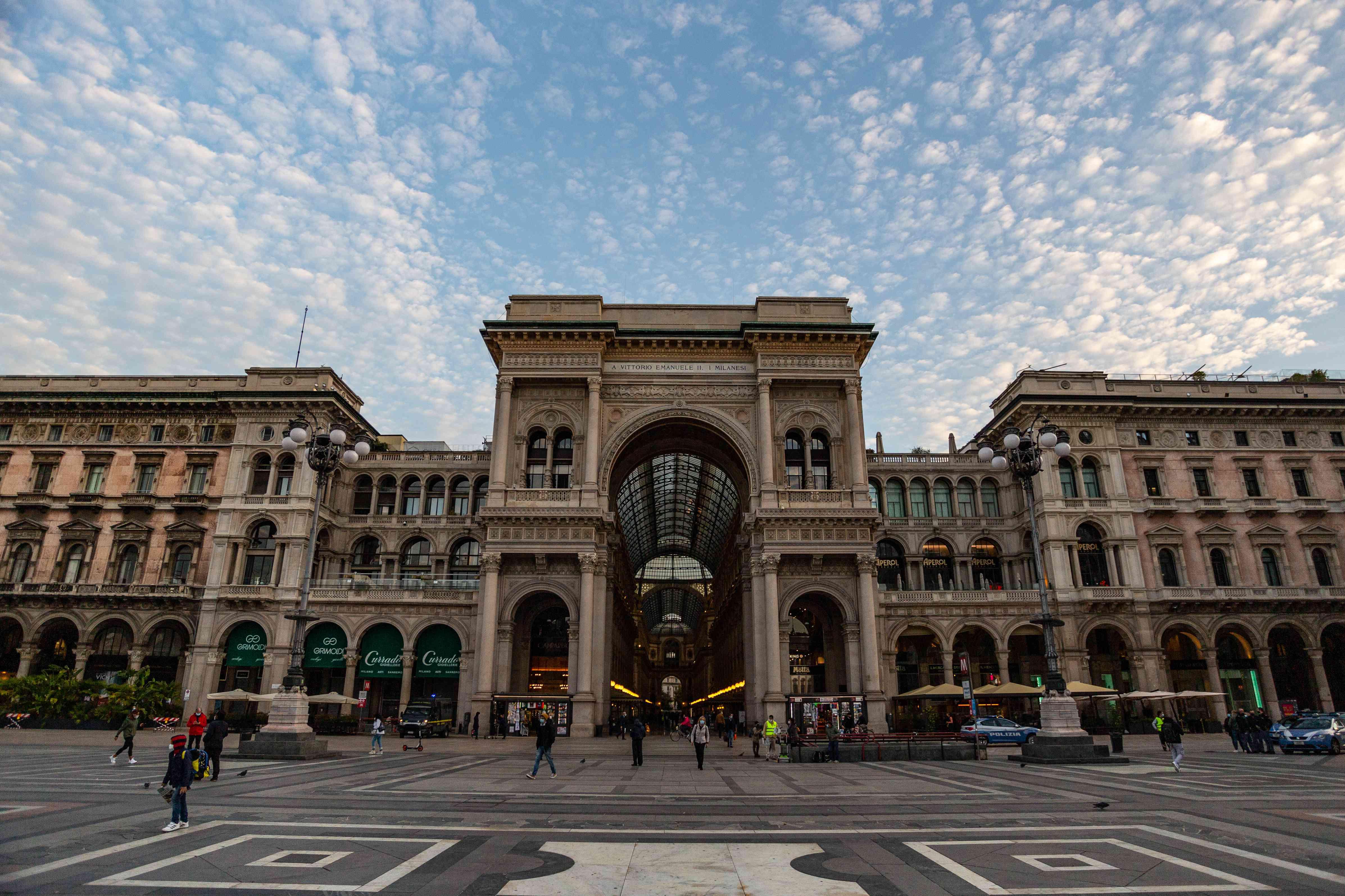 Galerie Vittorio Emanuele II, Milan, Italy