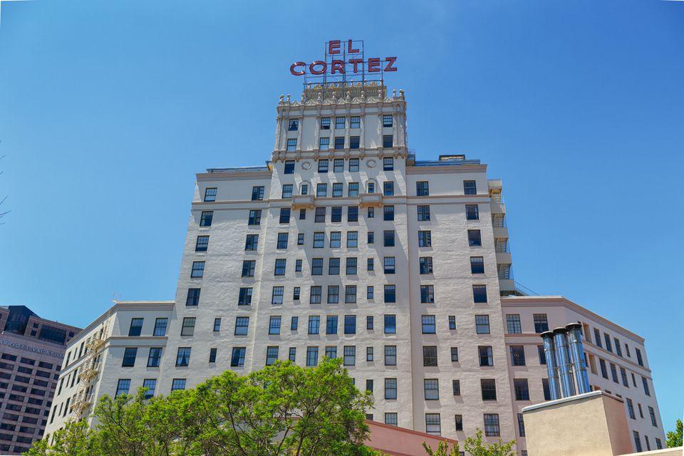 El Cortez Hotel en San Diego