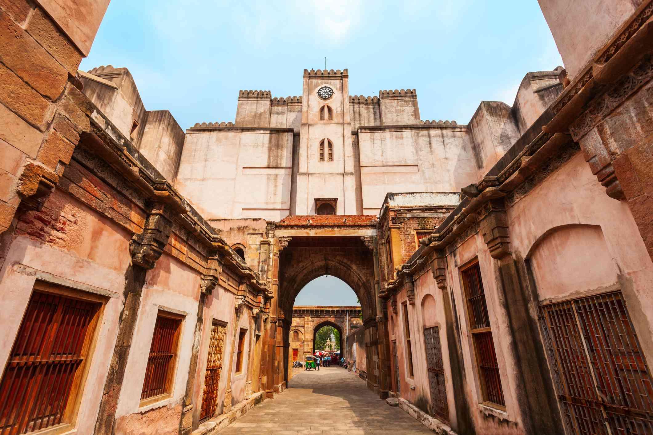 Bhadra Fort in Ahmedabad, India