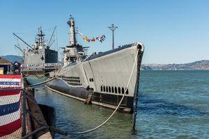 submarine USS Pampanito near Pier 39, San Francisco