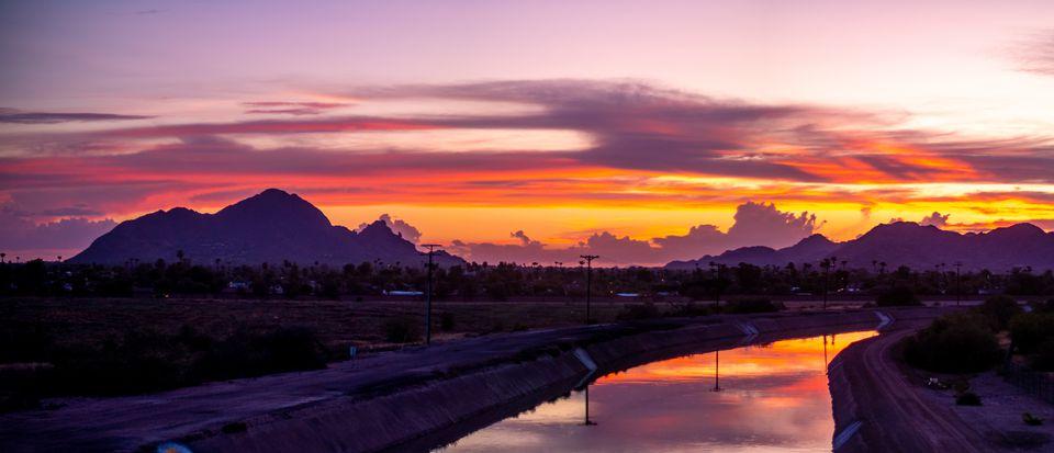 Camelback Mountain at sunset