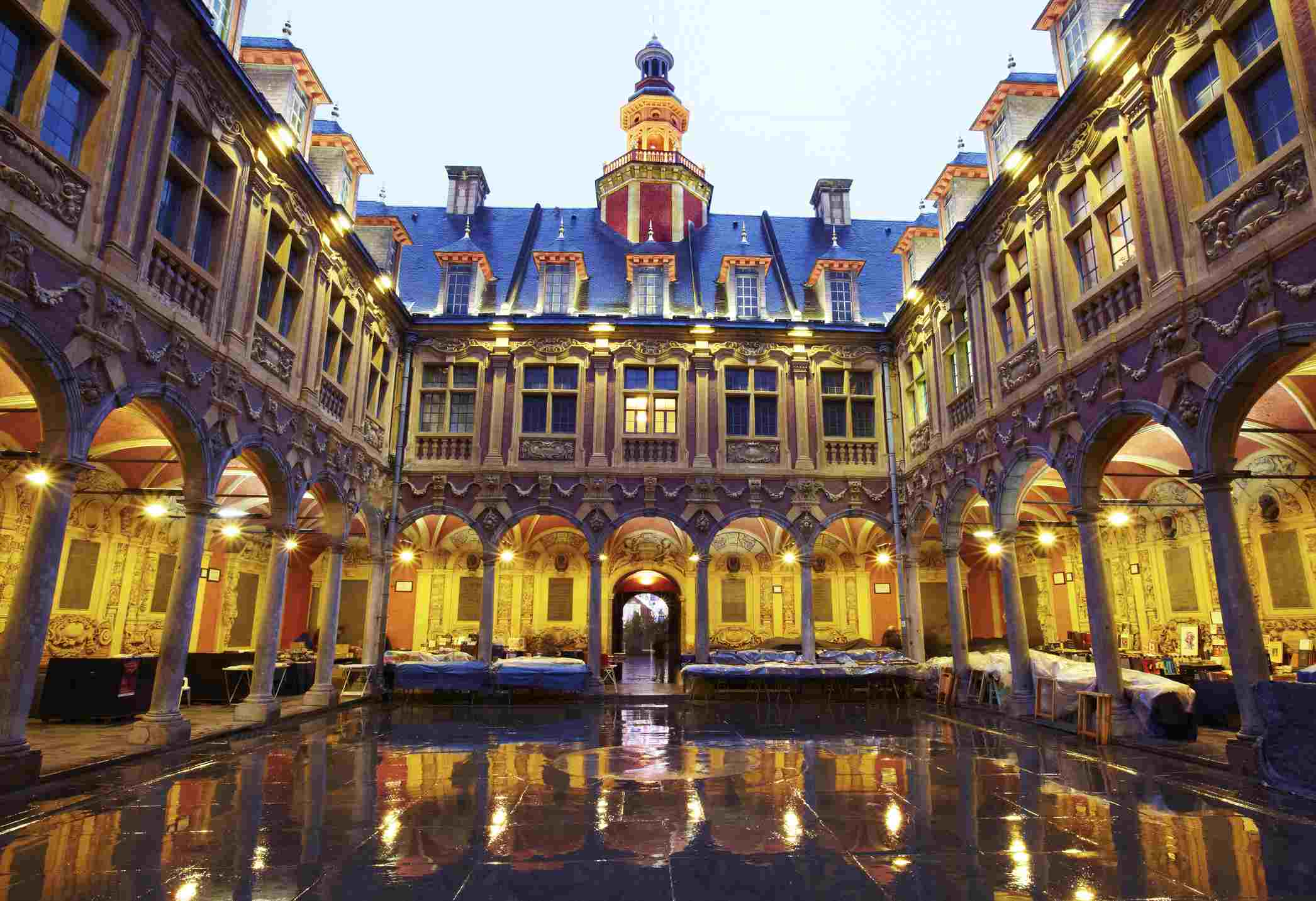 The Old Bourse (Stock Exchange) in Lille