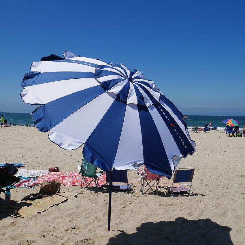 Tommy Bahama Stripe 7.5-Foot Beach Umbrella