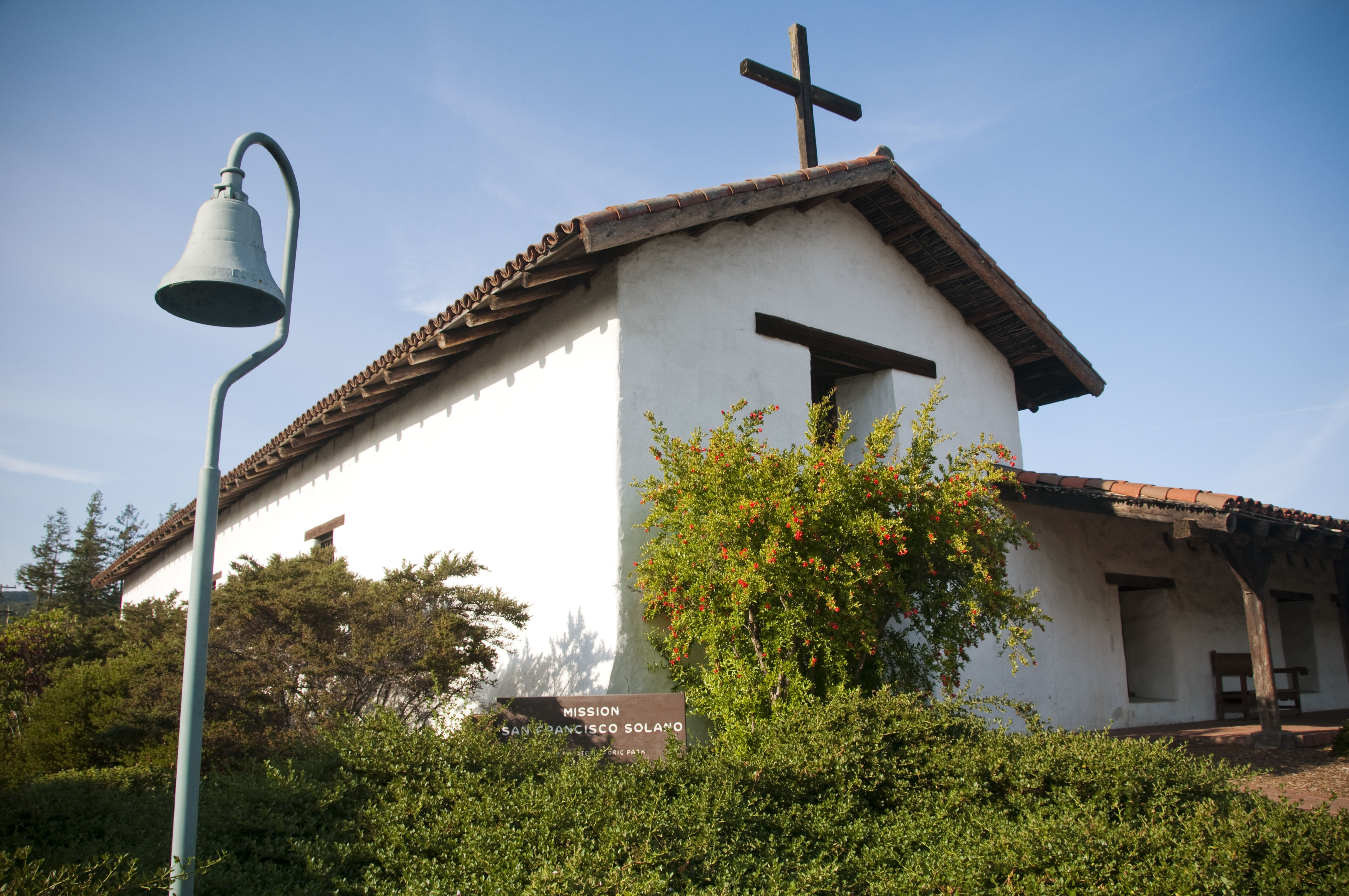 Mission San Francisco Solano in Sonoma, CA.
