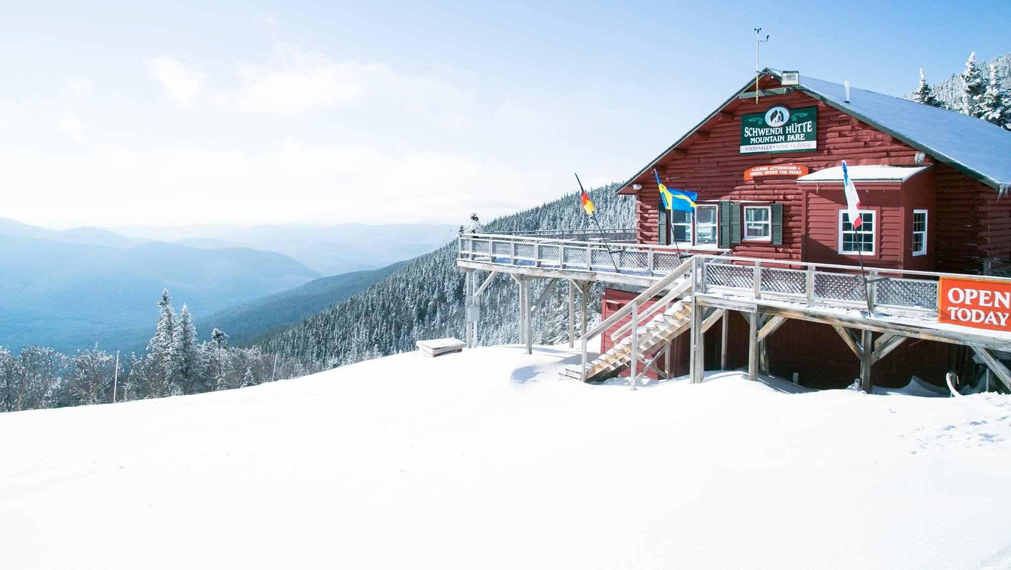 Schwendi Hutte at Waterville Valley Ski Resort