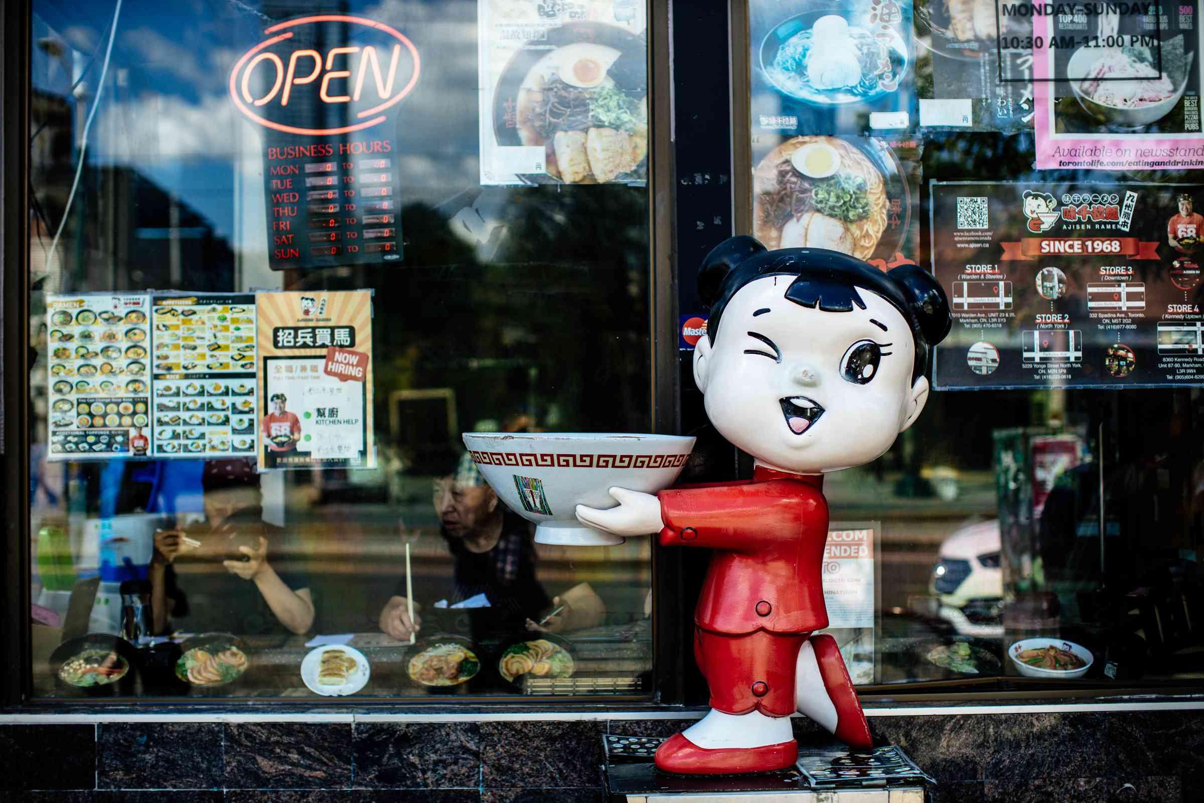 Chinatown in Toronto