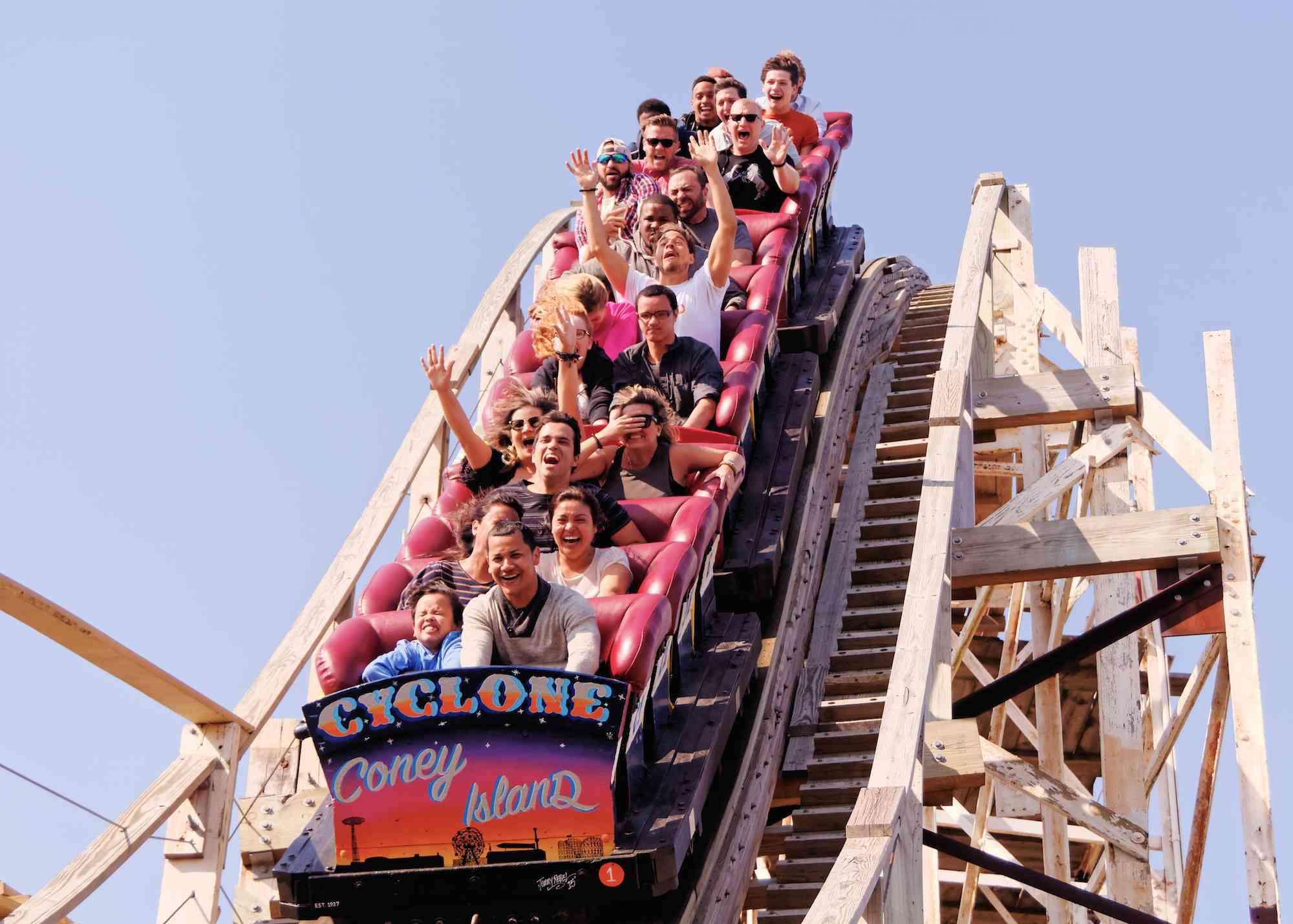 Coney Island Cyclone coaster