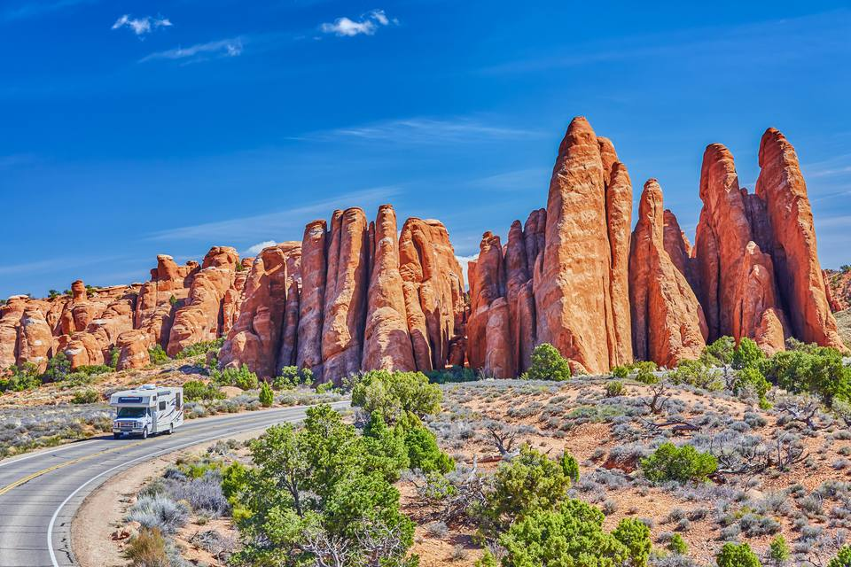 Arches National Park in Utah,USA
