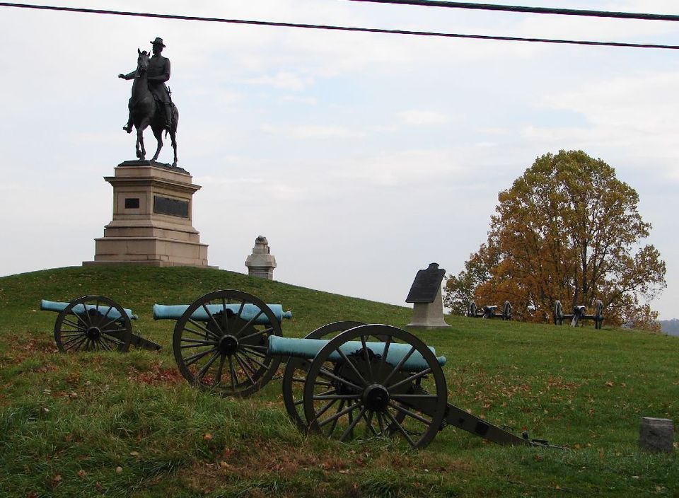 Gettysburg Cemetery Hill