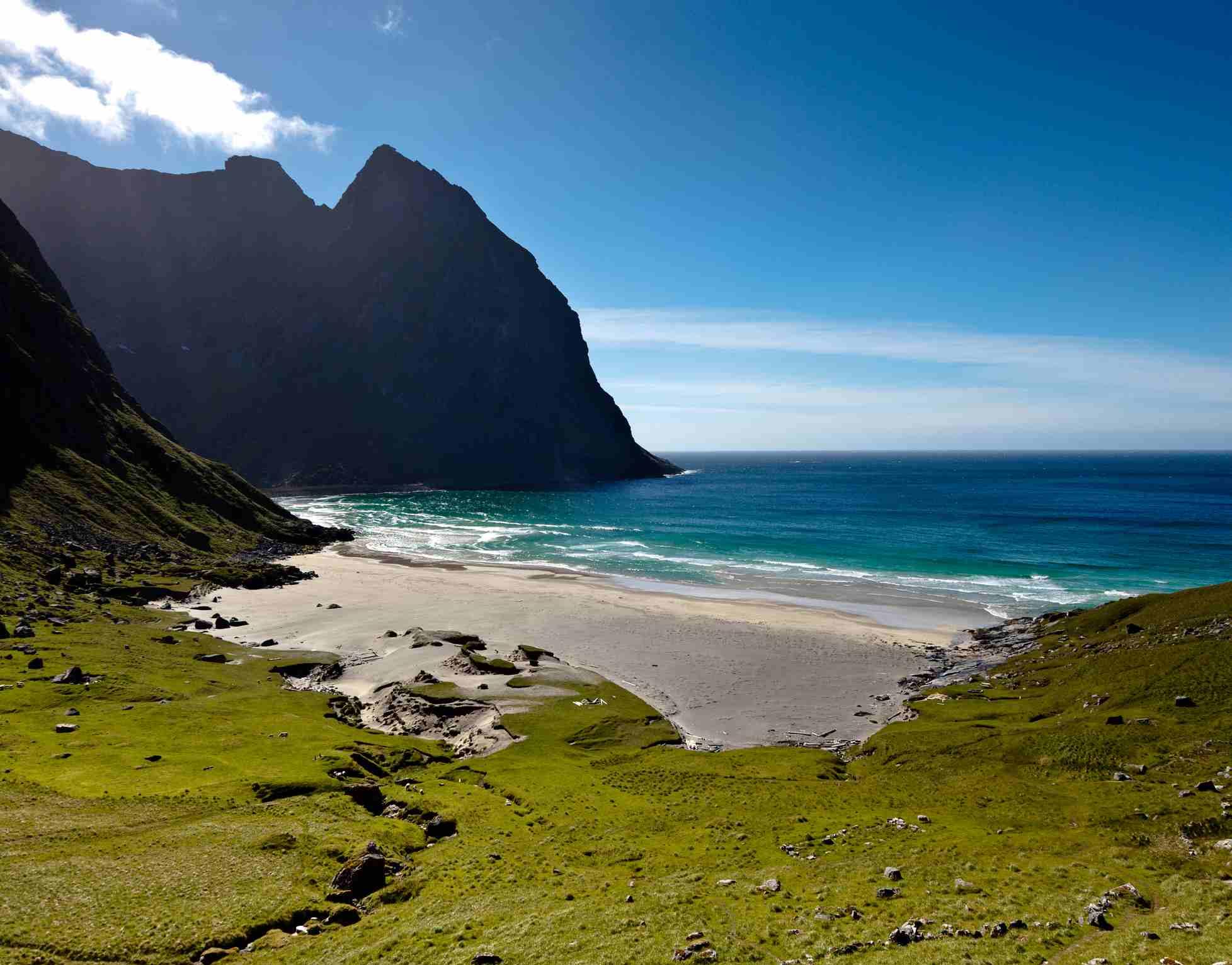 Kvalvika Beach, Norway