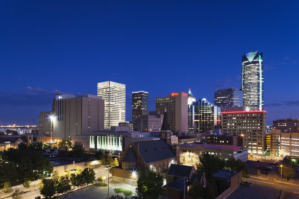 Oklahoma City, Oklahoma, City View