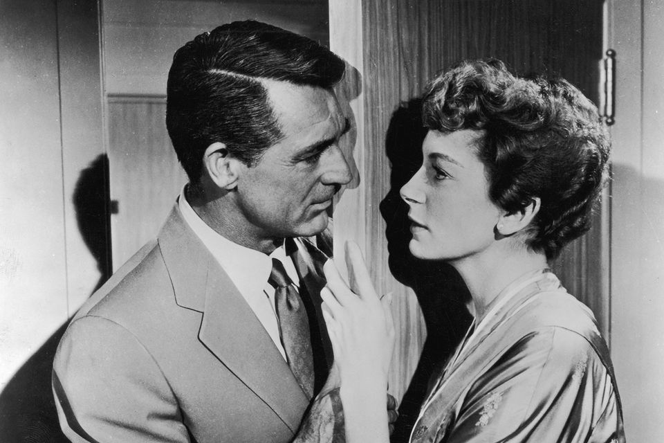 Cary Grant and Deborah Kerr in the film, 'An Affair to Remember', 1957