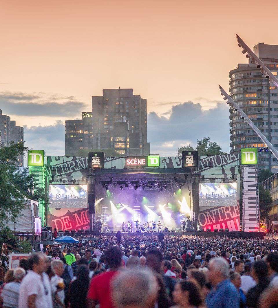 Montreal Jazz Festival in June