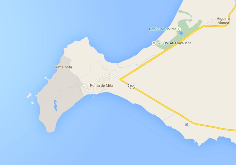 Maps of Riviera Nayarit, Mexico