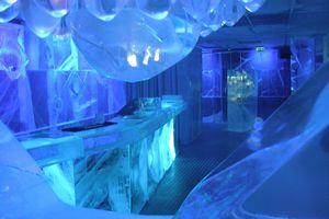 Ice bar in Stockholm, Sweden