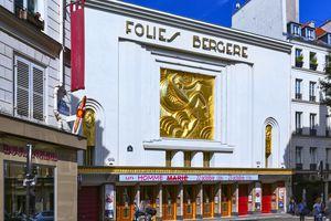 Les Folies Bergere cabaret in Paris