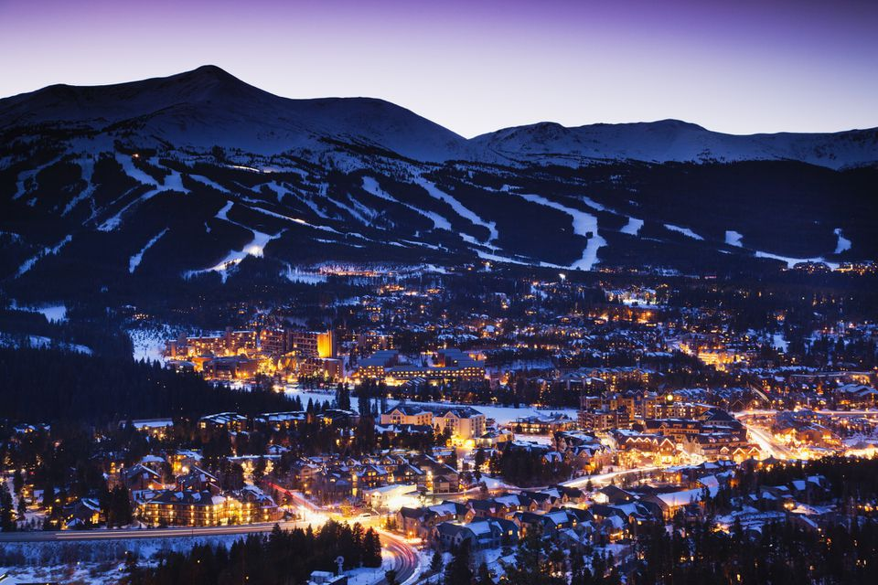 Breckenridge, town view from Mount Baldy