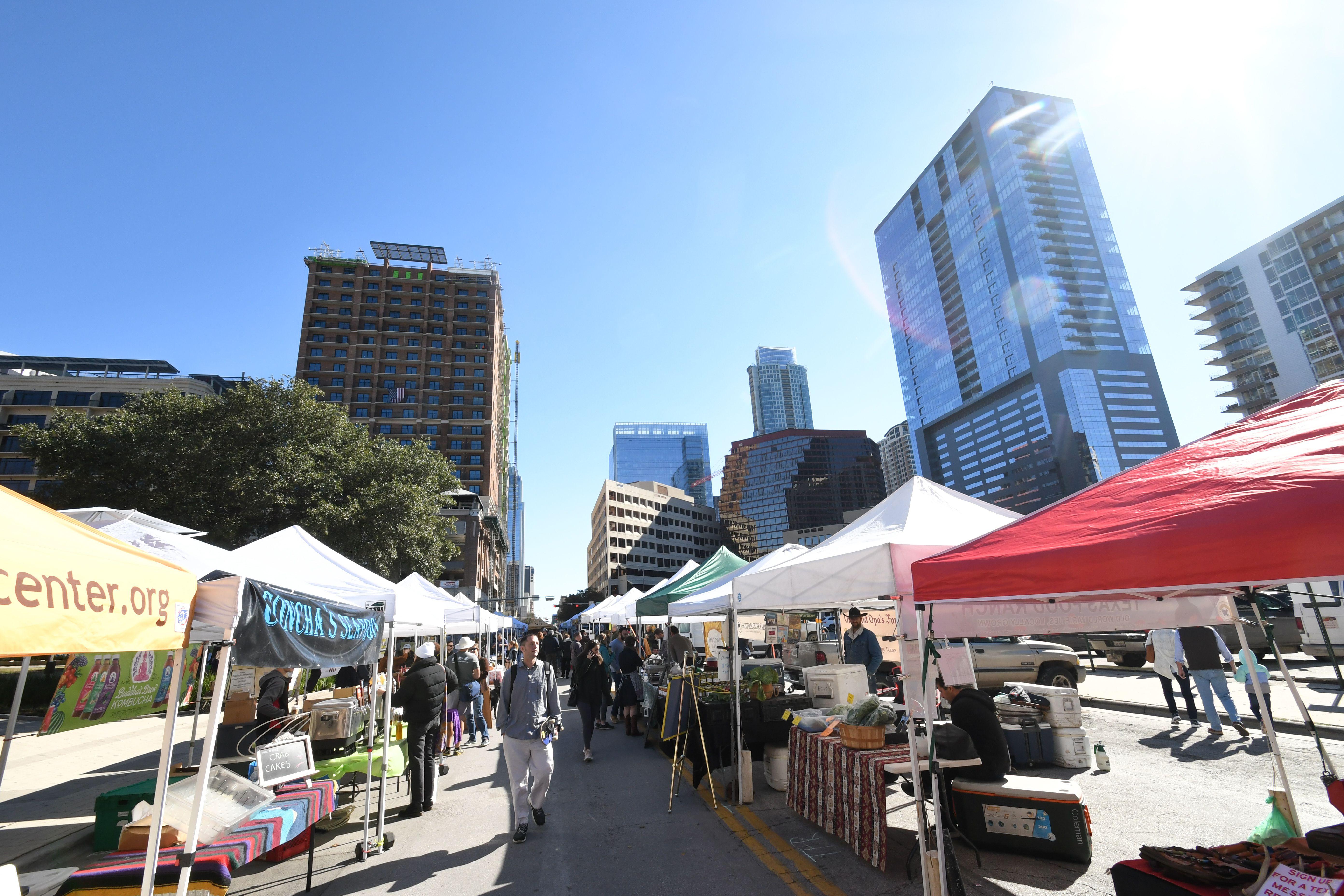 Un mercado en Austin