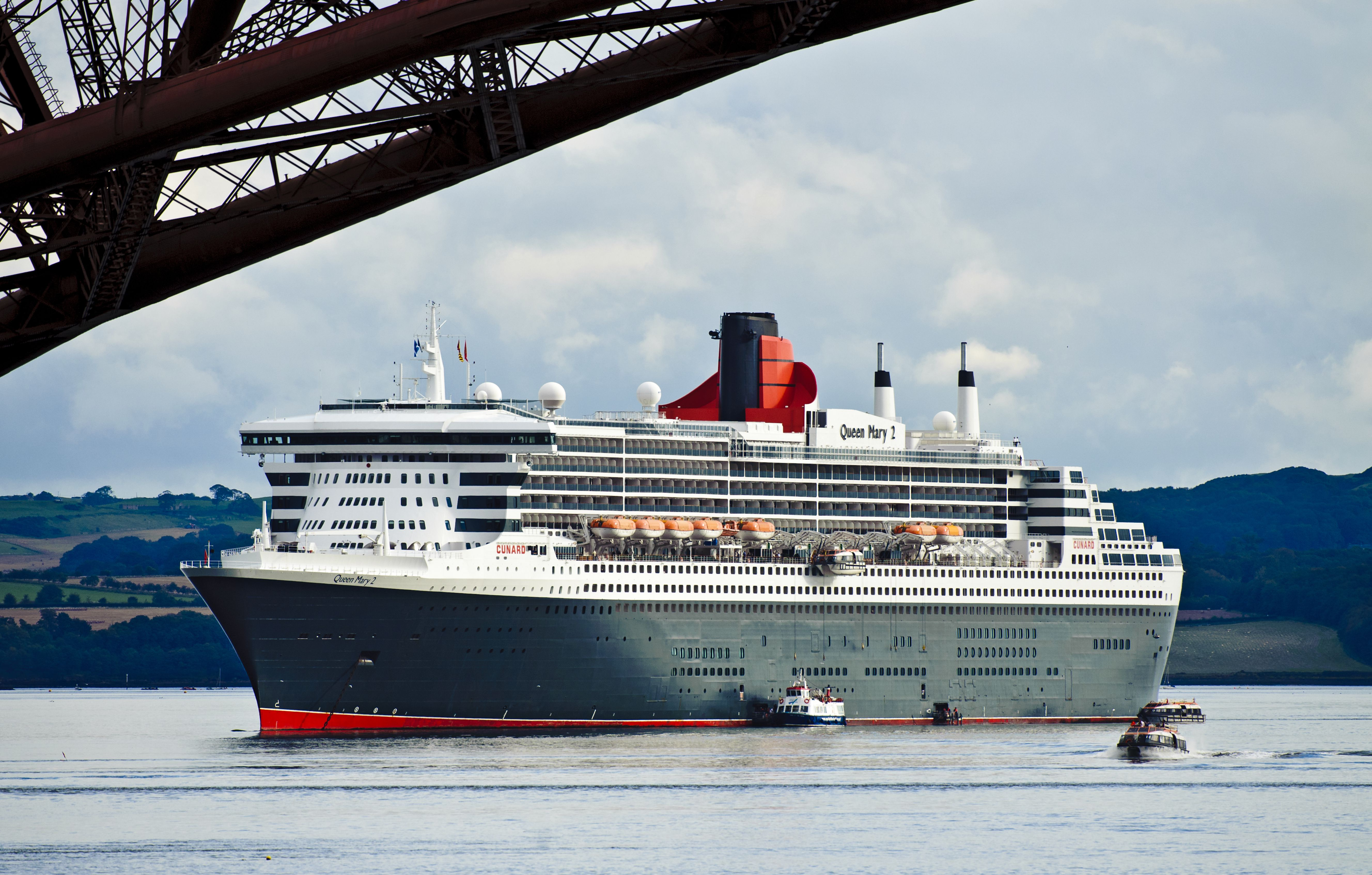 Queen Mary 2 of the Cunard Line