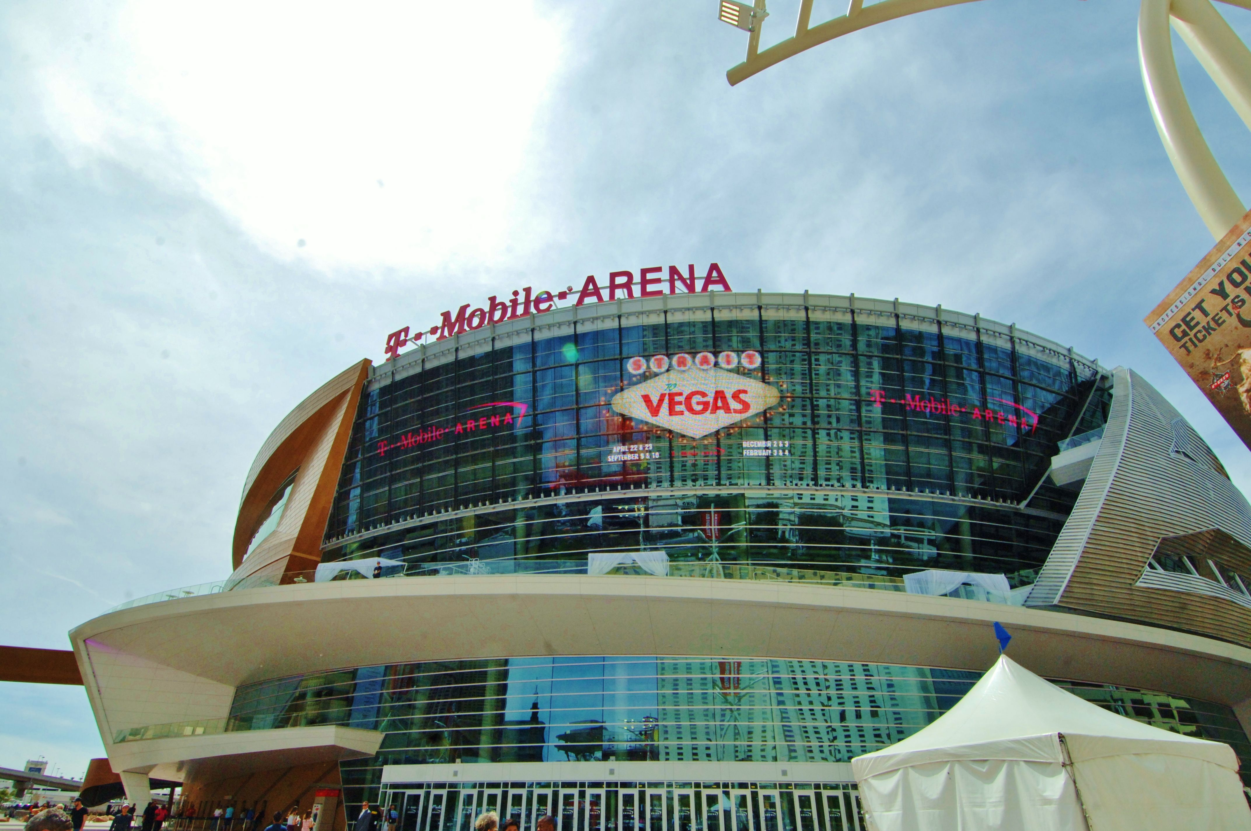 T Mobile arena Las Vegas Seating Chart