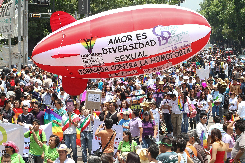 Gay Parade in Mexico City