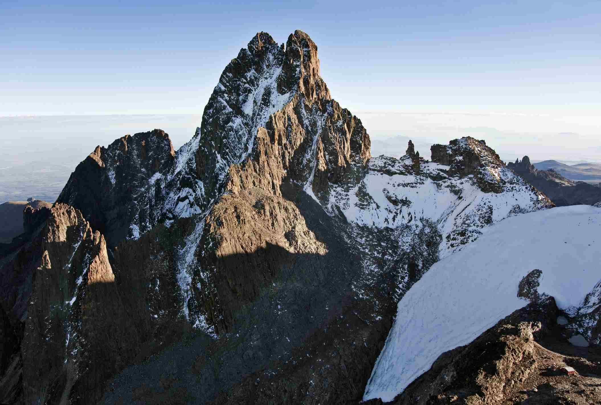 Summit of Mount Kenya