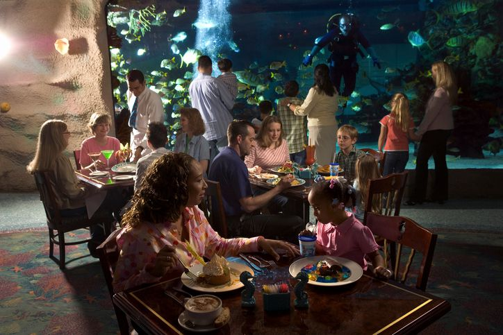 Houston Aquarium Restaurant