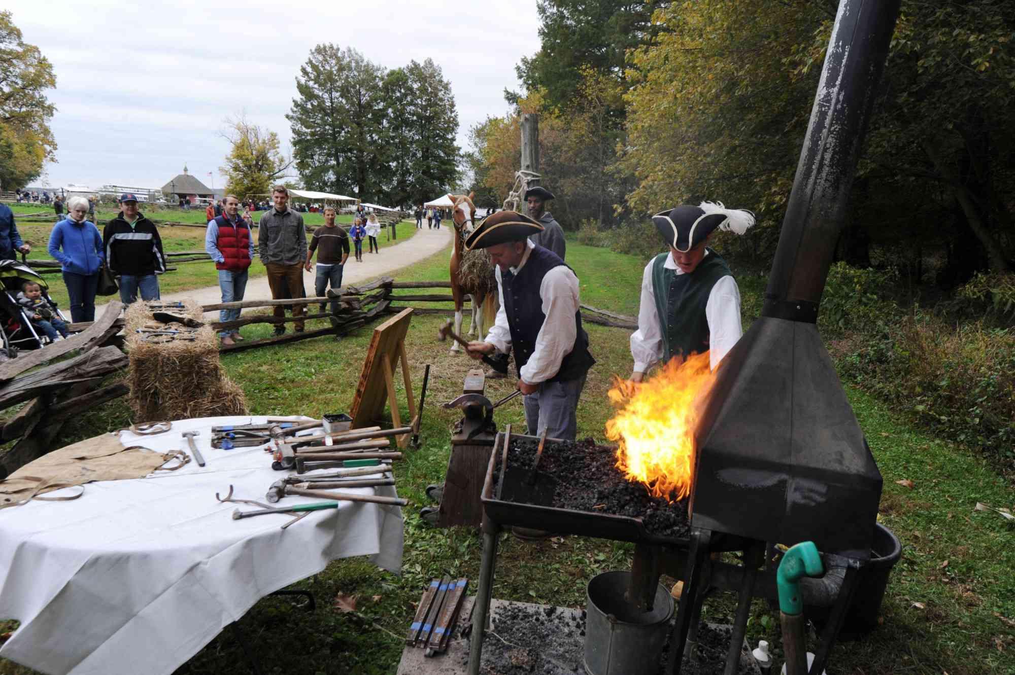 Mount Vernon Fall Harvest Days
