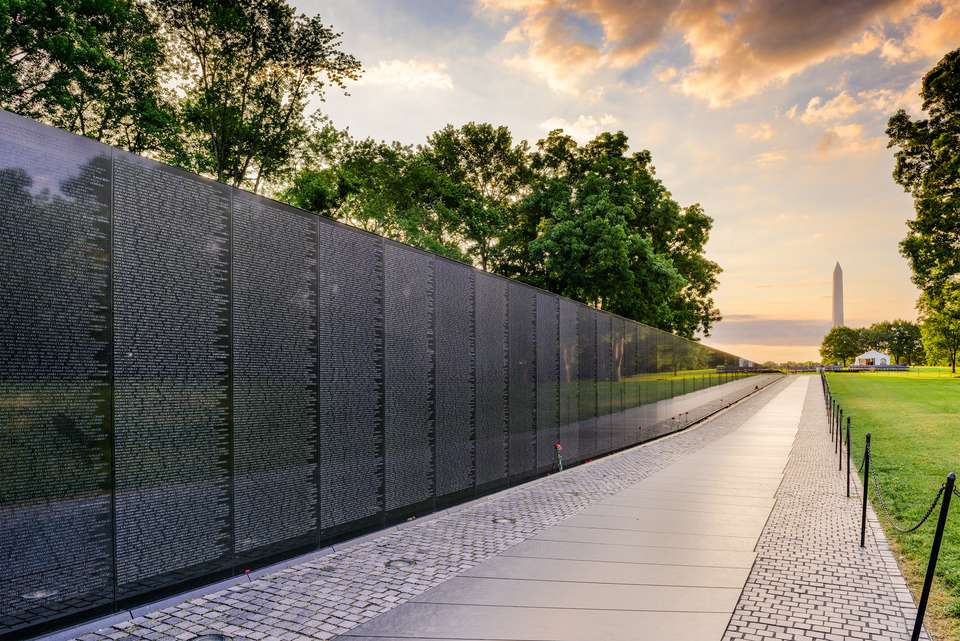 Vietnam War Memorial in DC