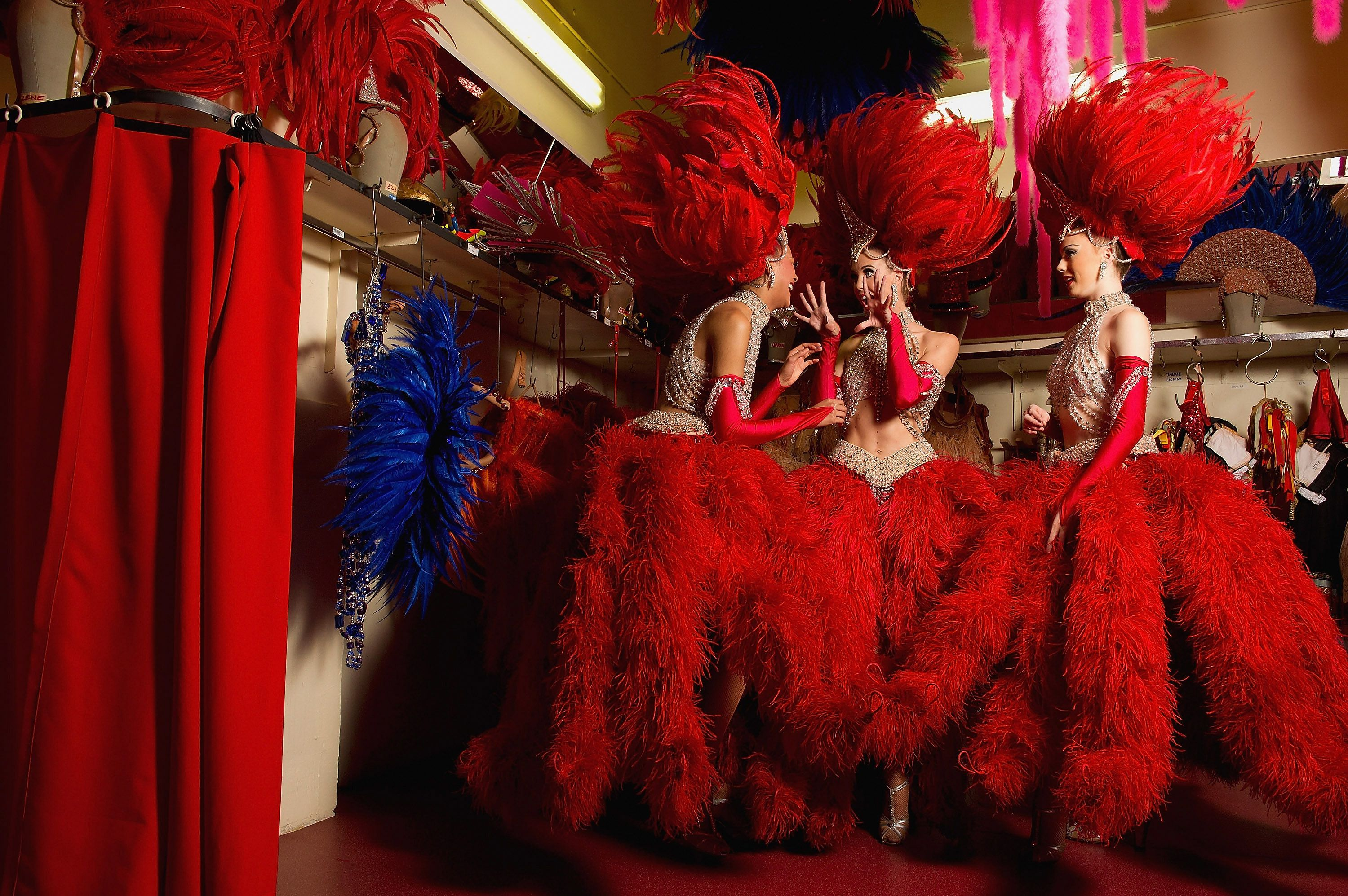 Booking Tickets To The Moulin Rouge