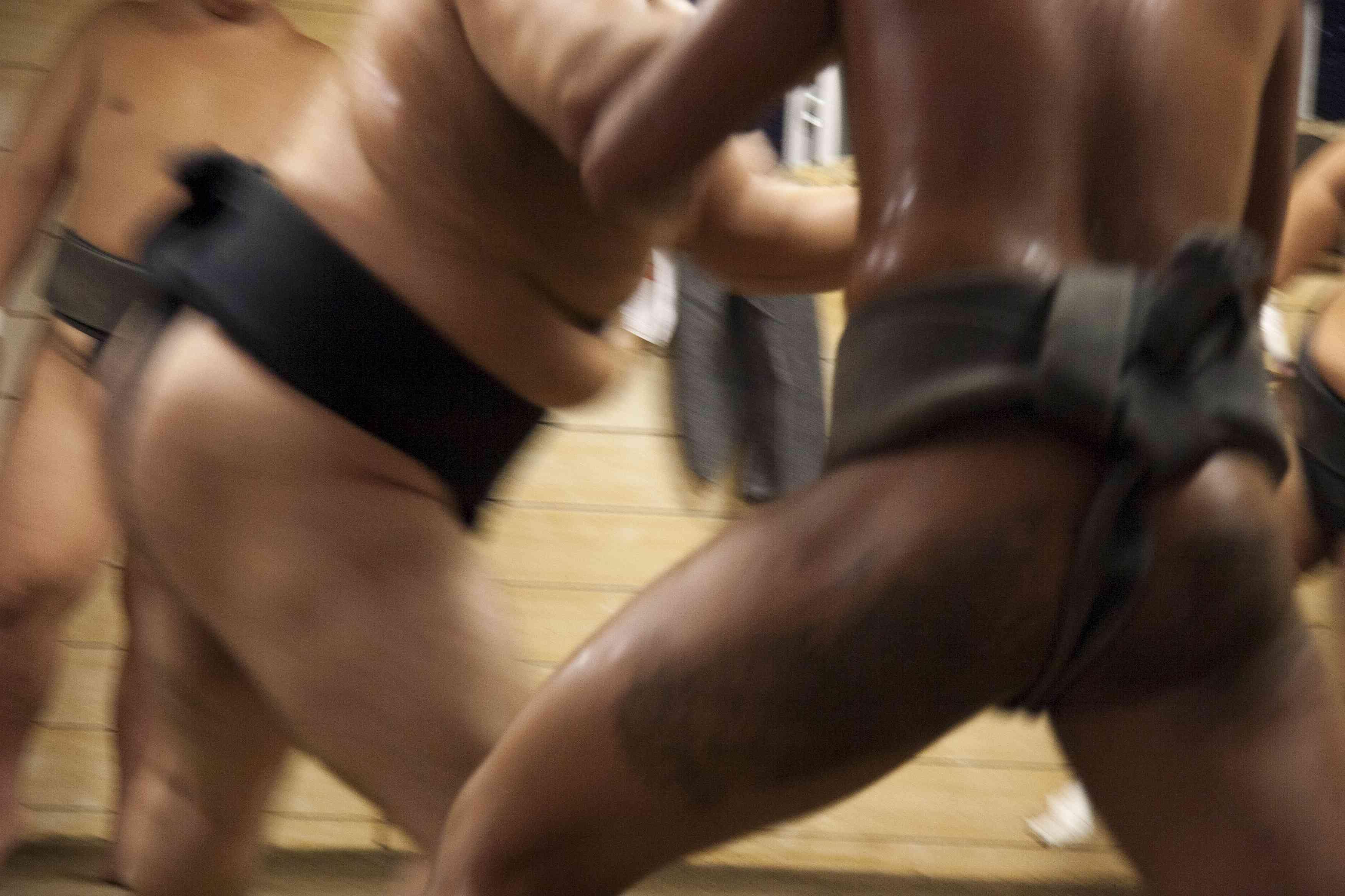 Tokyo Sumo Practice
