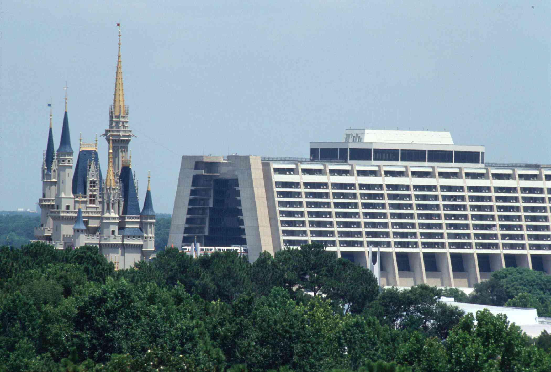 Contemporary Hotel at Disney World