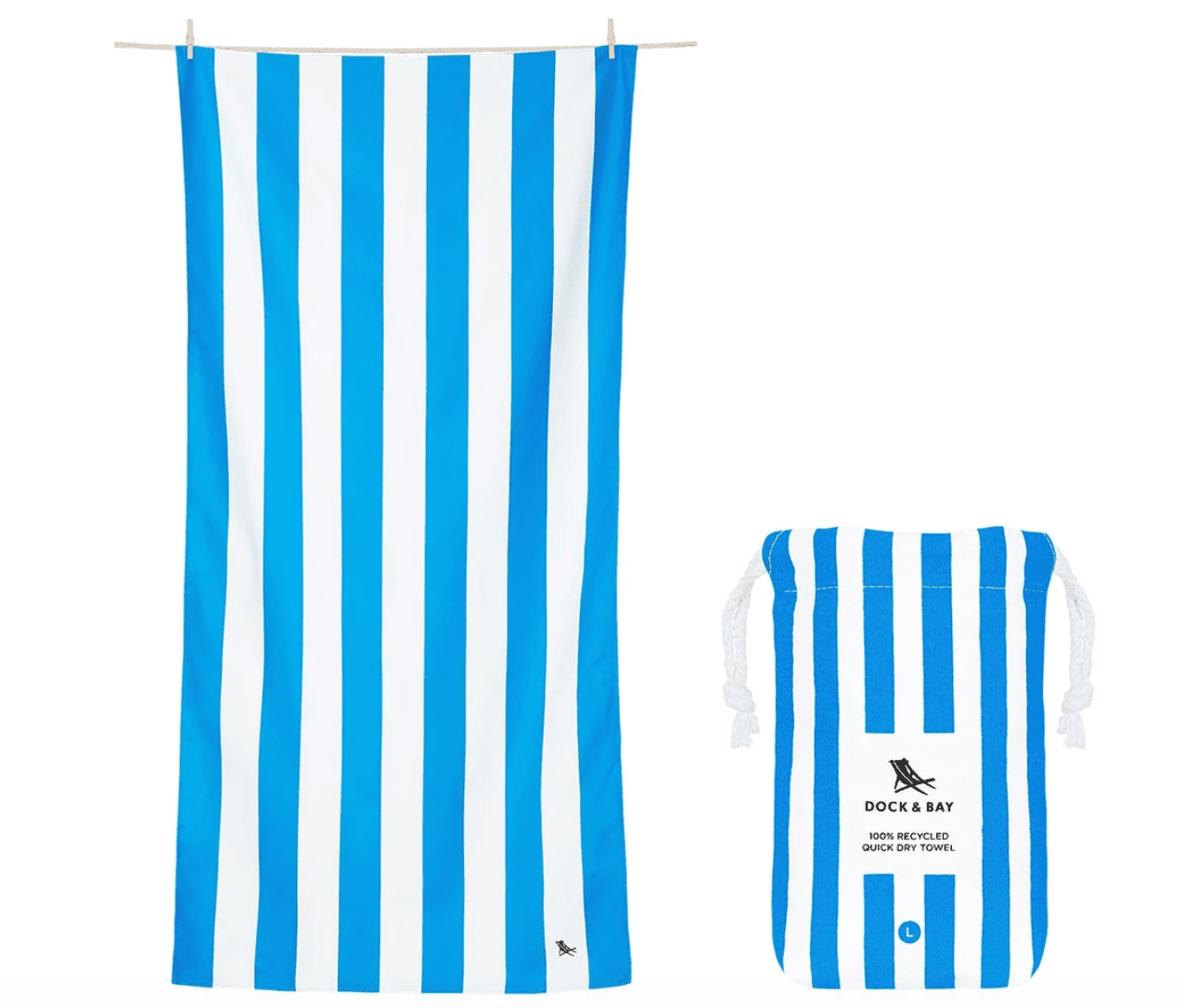 Dock & Bay Quick Dry Beach Towel