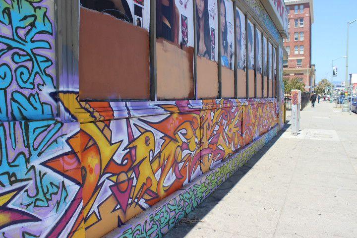 Oakland's street art