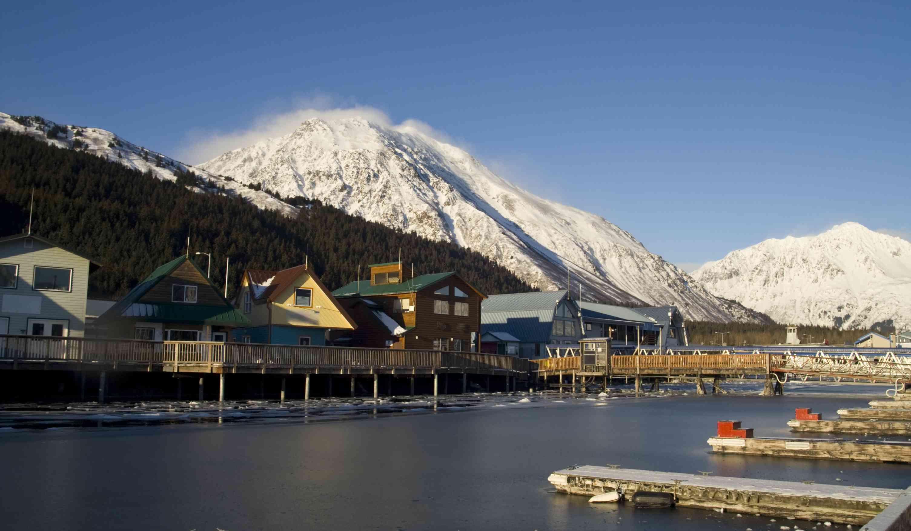 Resurrection Bay in Seward, Alaska