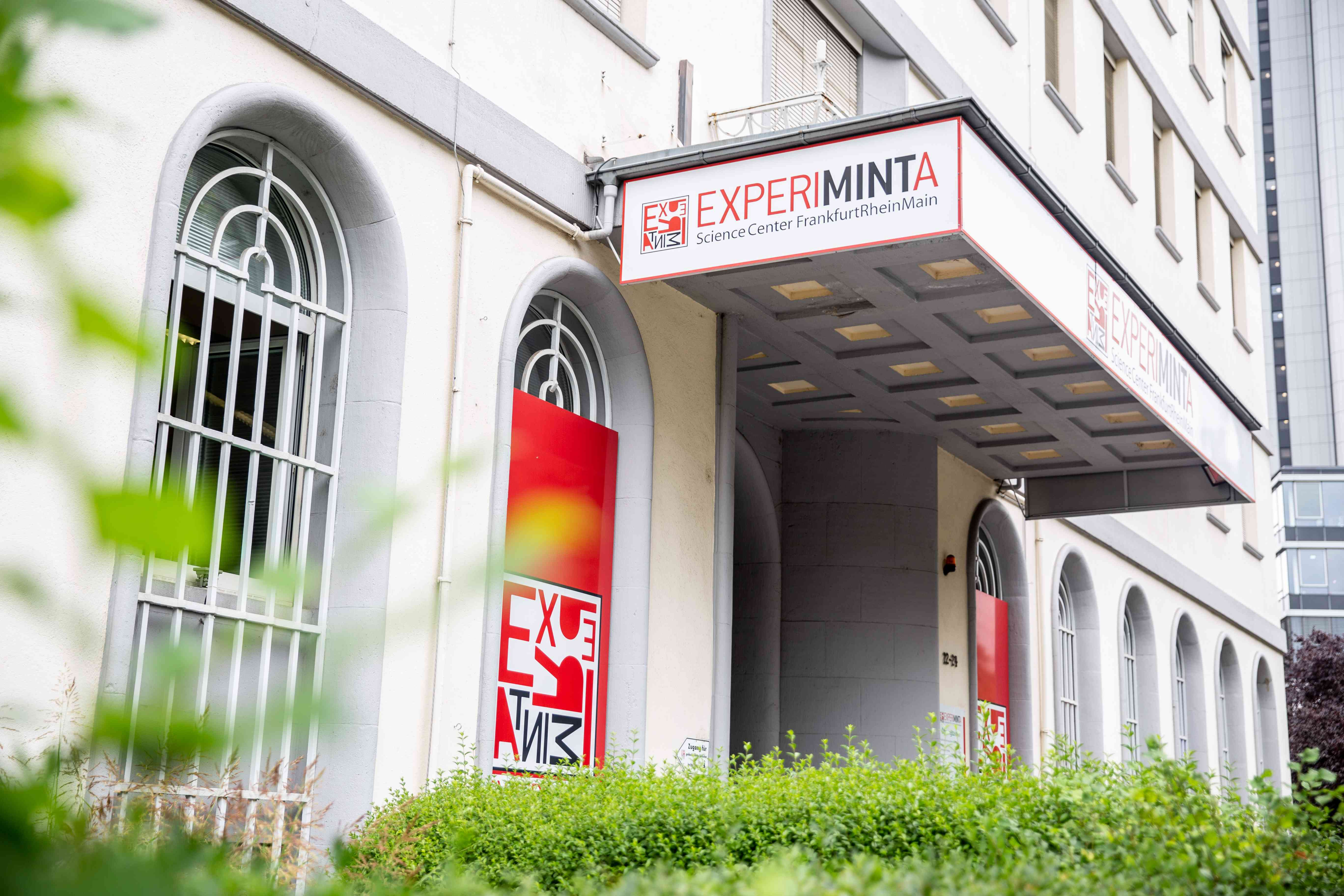 Entrance to the Experiminta Museum