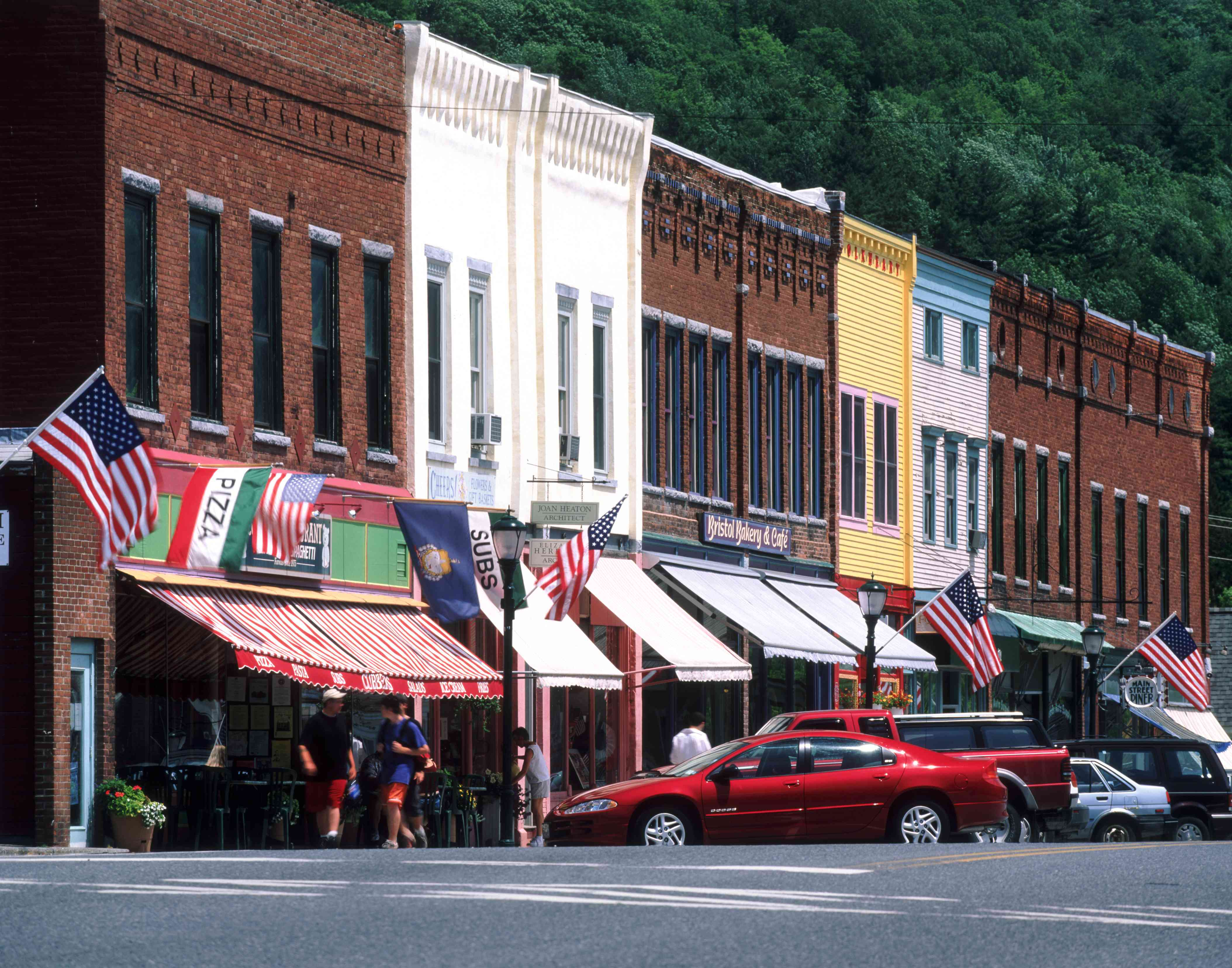 Main Street, Bristol, Vermont