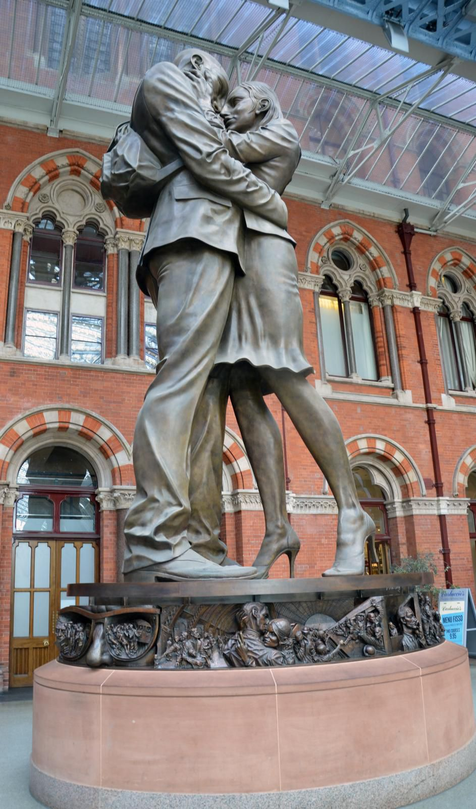 The Meeting Place At St Pancras Station