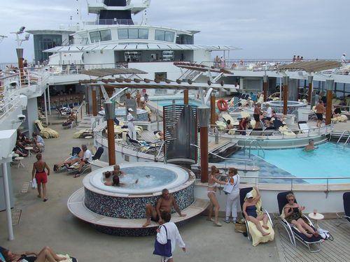 Celebrity Infinity - Pool Deck