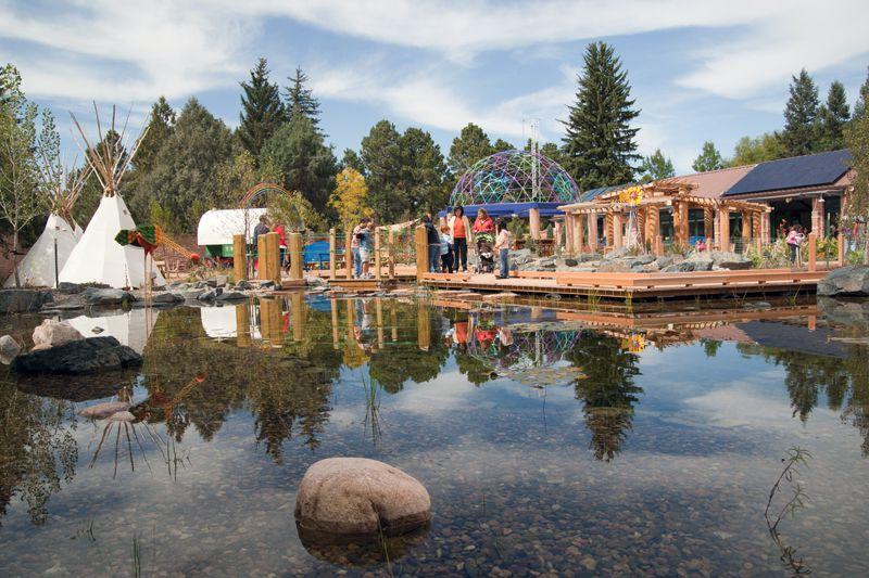 Paul Smith Children's Village at the Cheyenne Botanic Gardens