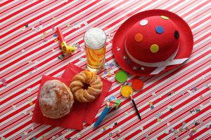 Cologne Carnival Table