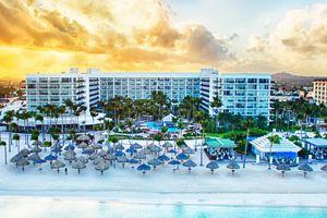 The sugar sands of Aruba Marriott Resort & Stellaris Casino