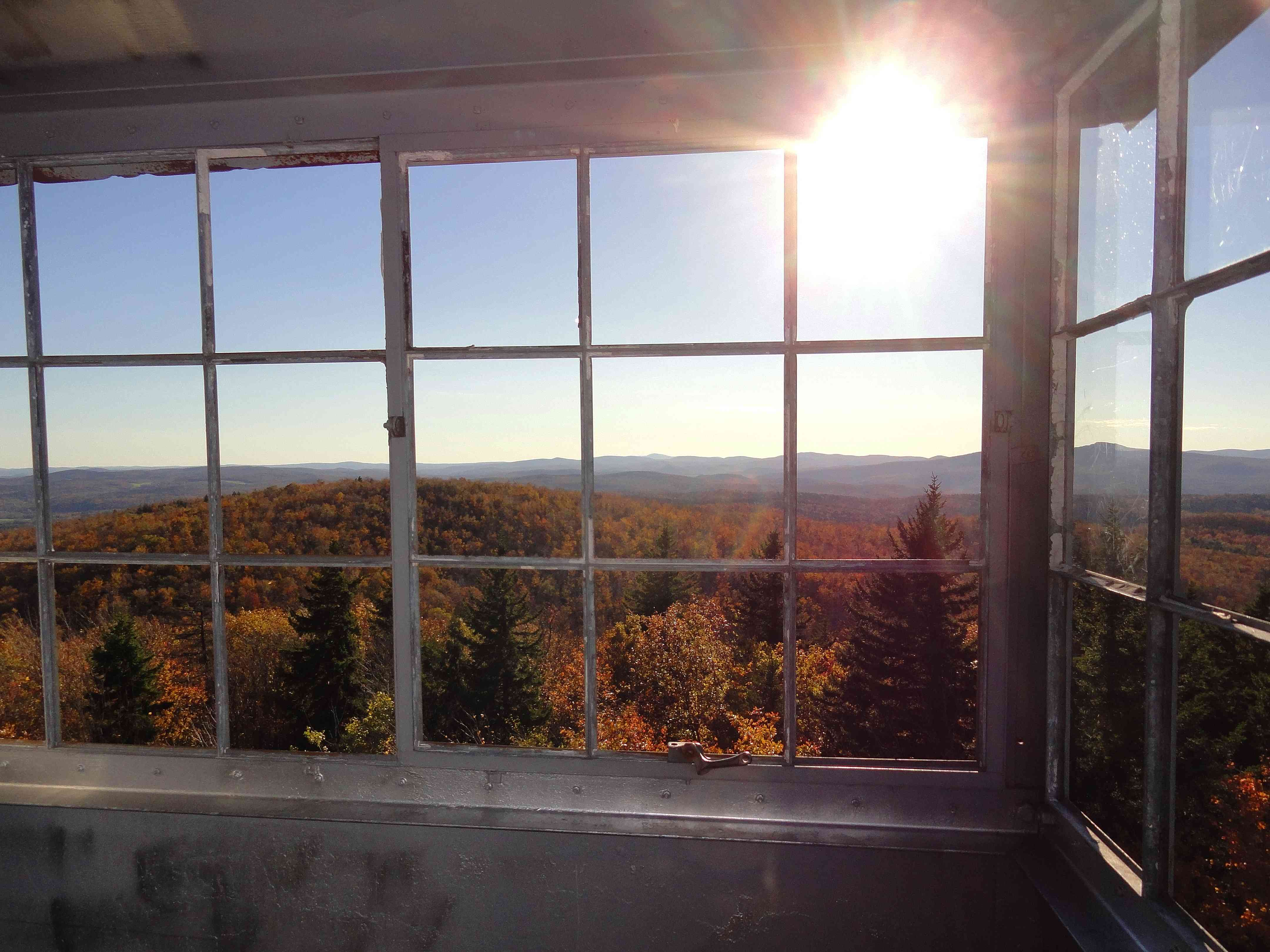 Fall View from Fire Tower, Molly Stark State Park, Molly Stark Byway