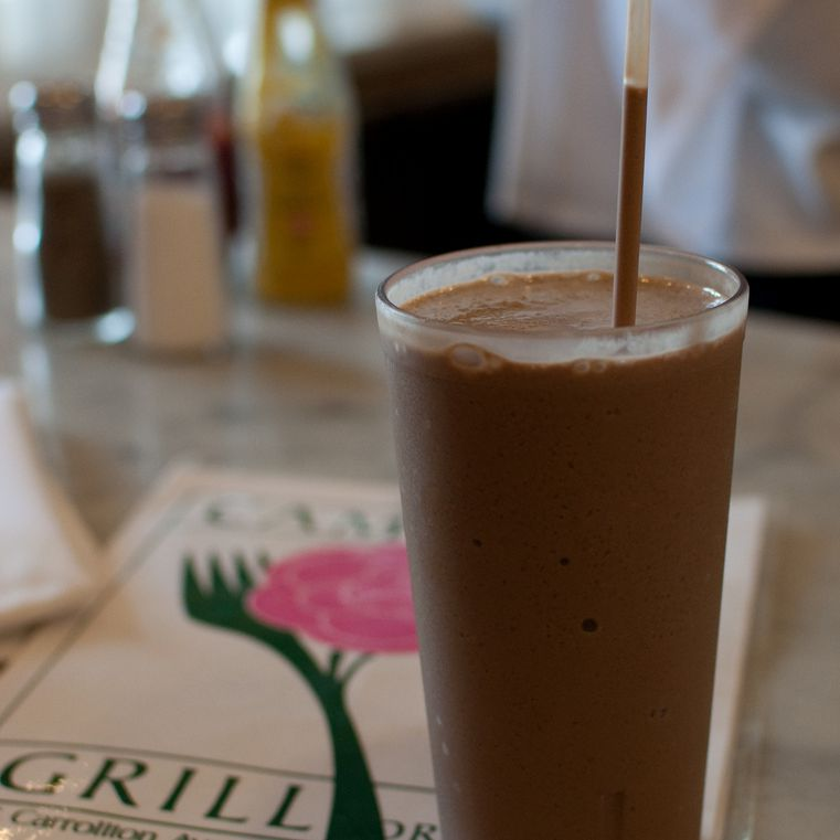 A Chocolate Freeze at the Camellia Grill